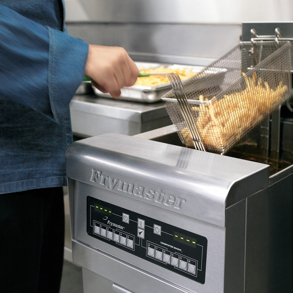 What are the benefits of deep frying food?