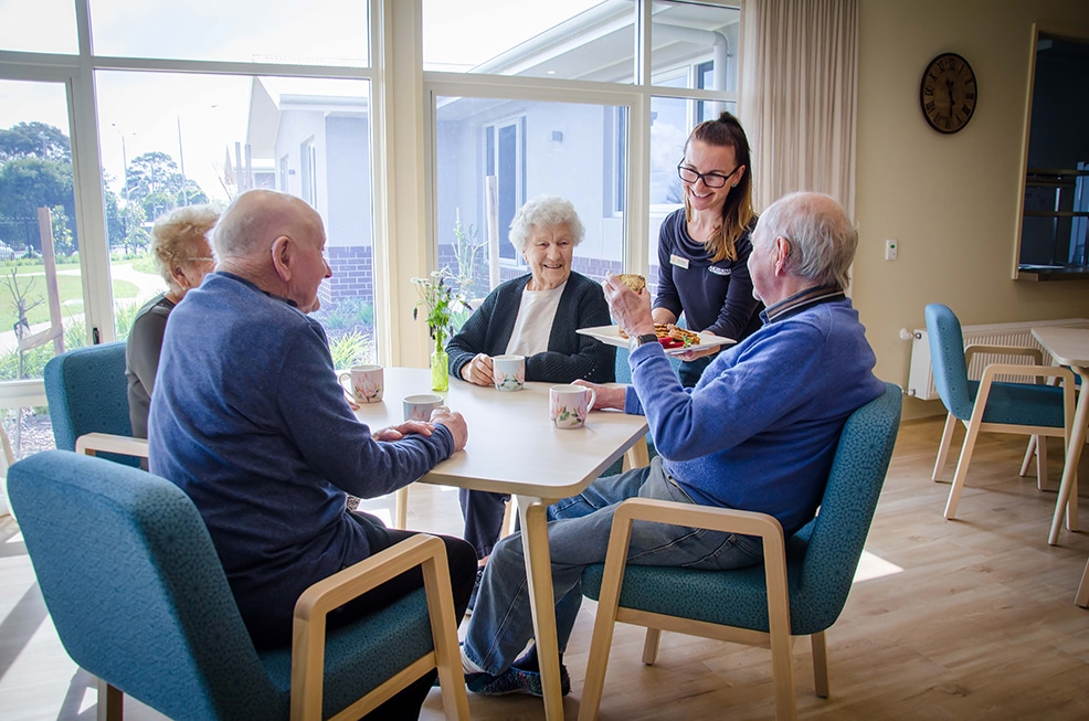 Australia's premier retirement community is leading the way in food service delivery