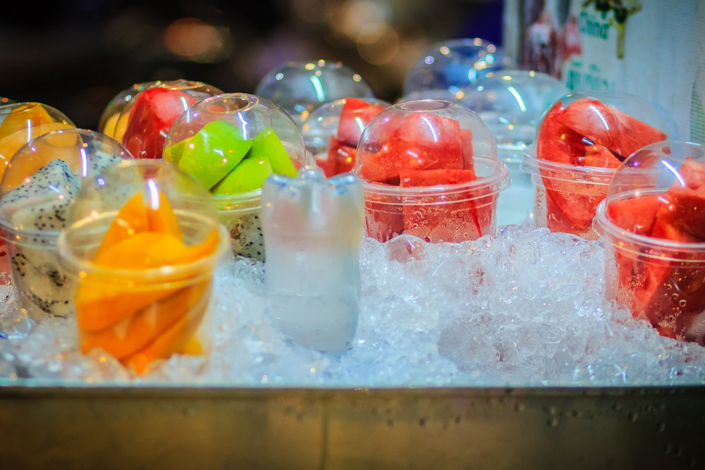 Flaker Ice, the secret ingredient to a chilling display!